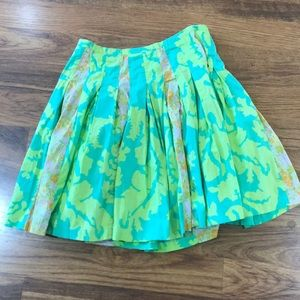 Floral mixed print Anthropologie skirt